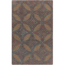 Dream Chocolate Geometric Area Rug