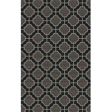 Dream Black/Charcoal Geometric Area Rug