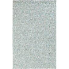 Confetti Light Gray/Mint Area Rug