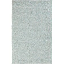 Confetti Mint/Sky Blue Solid Area Rug