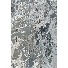 Chemistry Charcoal/Gray Area Rug