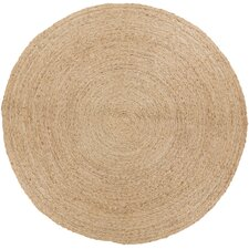 Country Jutes Beige Solid Rug