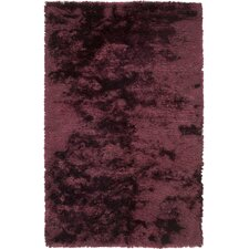 Dunes Dark Burgundy Solid Area Rug