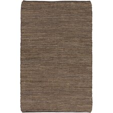 Country Jutes Brown Area Rug