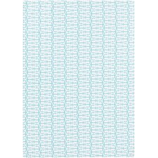 Cape Cod Aqua/Ivory Geometric Indoor/Outdoor Rug
