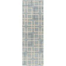 Artist Studio Slate/Ivory Geometric Area Rug