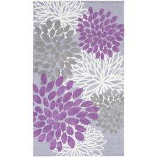 Abigail Lavender/Gray Area Rug