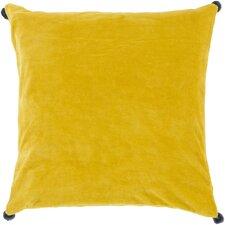 Cotton Velvet Throw Pillow