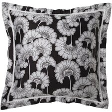 Japanese Floral Florence Broadhurst Cotton Throw Pillow