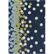 Abigail Navy & Sky Blue Area Rug