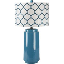 "Hillary 29"" H Table Lamp with Drum Shade"