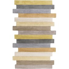 Geometrix Gold Area Rug