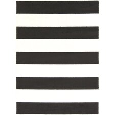 Horizon Black/White Area Rug