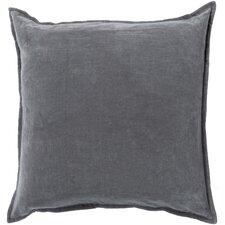 Smooth Velvet Cotton Throw Pillow