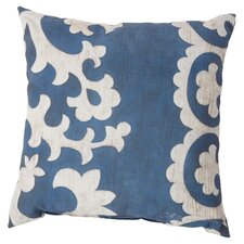 Stately Scroll Throw Pillow