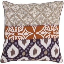 Layers of Luxury Cotton Throw Pillow