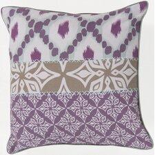 Layers of Luxury Cotton Throw Pillow