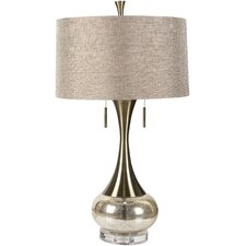 "Neveah 33"" H Table Lamp with Drum Shade"