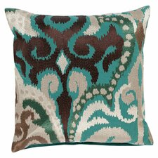 Radiant Swirl Throw Pillow