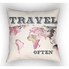 Jetset Throw Pillow