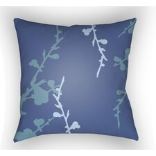 Chinoiserie Floral Throw Pillow