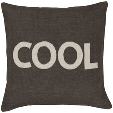 Charmingly Cool Jute Throw Pillow