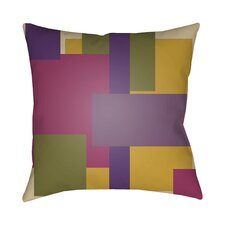 Modeme Throw Pillow