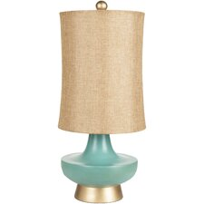 "Madge 27"" H Table Lamp with Oval Shade"