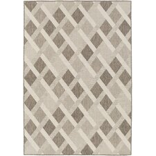 Zanzibar Charcoal/Ivory Indoor/Outdoor Area Rug