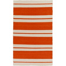 Marina Orange Indoor/Outdoor Area Rug
