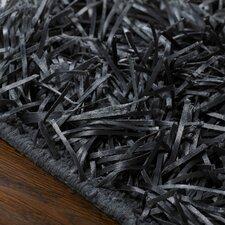 Aries Hand-Woven Black Area Rug