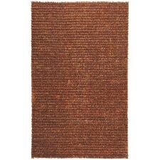 Harvest Rust Brown/Tan Solid Area Rug