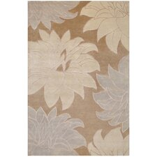 Mugal Taupe Area Rug