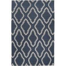 Fallon Slate Blue Area Rug