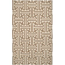 Archive Golden Brown/Ivory Area Rug