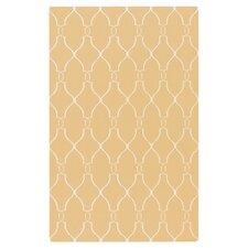 Fallon Yellow/Ivory Area Rug