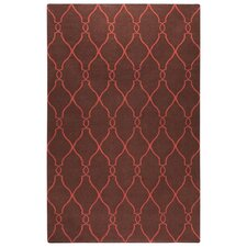 Fallon Brown/Rust Area Rug