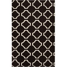 Fallon Black Area Rug