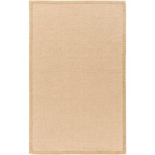 Soho Hand-Woven Tan/Tan Area Rug
