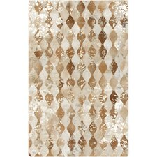 Trail Hand-Crafted Camel Area Rug