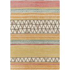 Scion Hand-Tufted Burnt Orange Area Rug