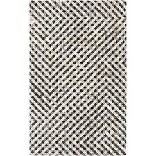 Trail Hand-Crafted Beige Area Rug