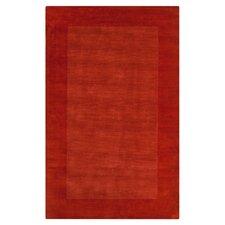 Mystique Red Orange Area Rug