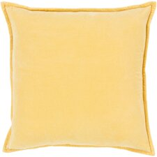 100% Cotton Velvet Throw Pillow Cover