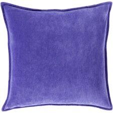 100% Cotton Velvet Throw Pillow Cover