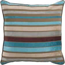Stripe Velvet Throw Pillow Cover