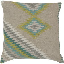 Kilim 100% Wool Throw Pillow Cover