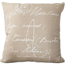Montpellier 100% Cotton Throw Pillow Cover
