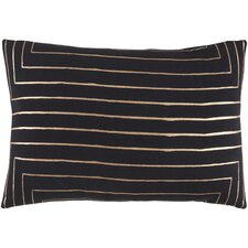 Crescent Cotton Lumbar Pillow