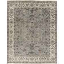 Bursa Hand-Knotted Grey/Brown Area Rug